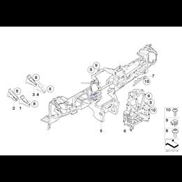 Tablica przyrządów, część dolna - 51452752761