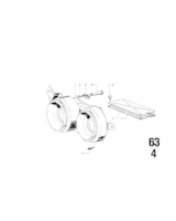 Adjusting screw - 63121354448