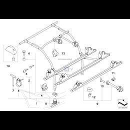 Element sprężynowy do pojazdów bez AHK - 82710394992