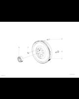 Dwumasowe koło zamachowe BMW E36 323i E39 523i - 21211223596