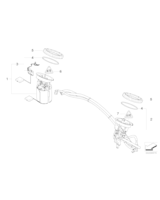 Pompa paliwa BMW E81 E87 E84 X1 116i 118i 120i E90 E91 316i 318i 320i - 16147197075