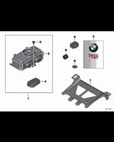 Dla samochodów z Autoalarm, Akumulator - 65752337504
