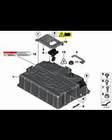 Akumulator wysokonapięciowy - 61257609630