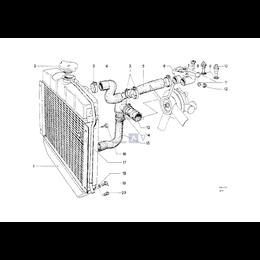 Przewód elastyczny układu chłodzenia - 11531266471