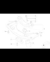 Poduszka skrzyni BMW E30 E39 E36 E46 E87 E90 E91 E92 E81 - 22316799330