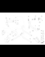 Przewód elastyczny układu chłodzenia BMW E60 E61 E63 E65 E81 E87 E90 2,3 2,5 3,0 2,8 - 11537521049