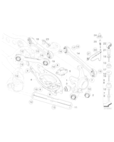 Czujnik impulsów DXC ABS tył BMW E90 E91 E92 E93 320xd 325xi 328xi 330xi 330xd 335xi 335xd - 34526764859