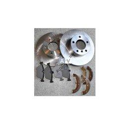 Tarcze wentylowane + klocki +szczęki tył BMW E39 520 523 525 528 530 540