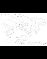 Izolacja dźwiękowa przedz. silnika, pr. - 51487034076