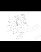 Łańcuch rozrządu BMW E30 E36 318is M42 M44 318ti - 11311247160