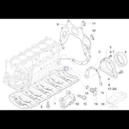 Uszczelka metalowa obudowy skrzyni biegów BMW E30 E36 E46 E39 E38 E53 E60 E61 E65 E83 E85 Z3 Z4 X3 X5 - 11141432240