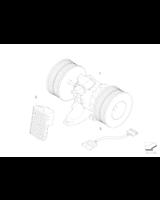 Dmuchawa wentylator wnętrza BMW E60 E61 E63 520 523 525 530 545 550 630 645 650 - 64116933910