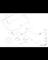 Przewód przelewowy paliwa BMW E46 E60 E61 E65 330d 525d 530d 730d - 13537786544