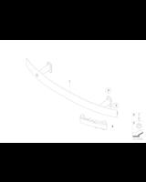 Absorber uderzenia przedni lewy - 51117151291