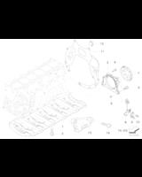 Komplet uszczelek skrzyni korbowej i miski BMW E90 E91 E92 E60 E61 E63 E64 E65 E70 X5 E71 X6 E83 X3 - 11110421208